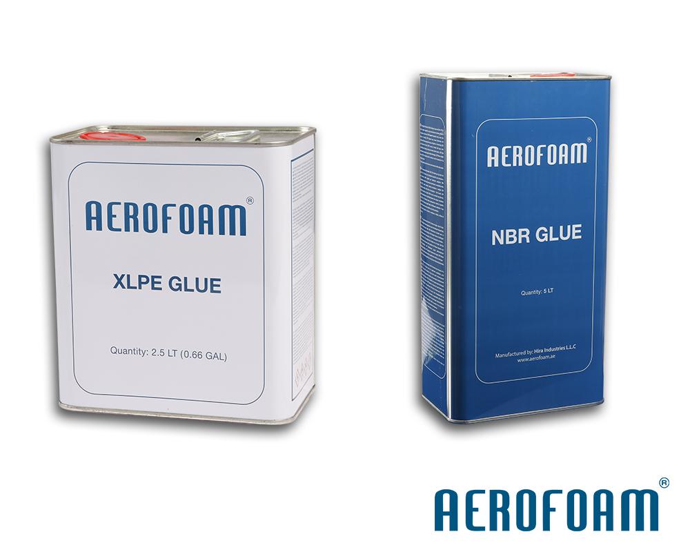 Aerofoam XLPE and NBR Glue